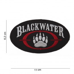 PATCH BLACK WATER OVALE