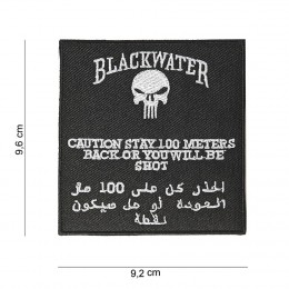 PATCH BLACK WATER QUADRATA