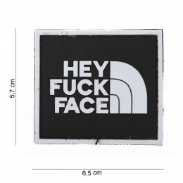 PATCH PVC FUCK FACE