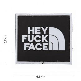 PATCH PVC FUCK FACE