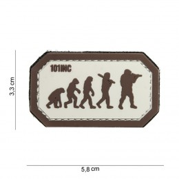 PATCH PVC EVOLUTION TAN