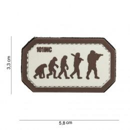 PATCH PVC EVOLUTION TAN