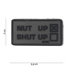 PATCH PVC NUT UP GREY