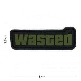 PATCH PVC WASTED BK