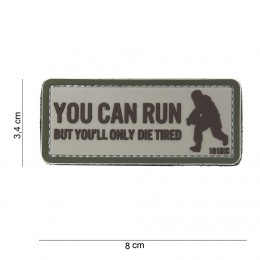 PATCH PVC YOU CAN RUN TAN