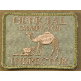 PATCH CAMEL TOE TAN