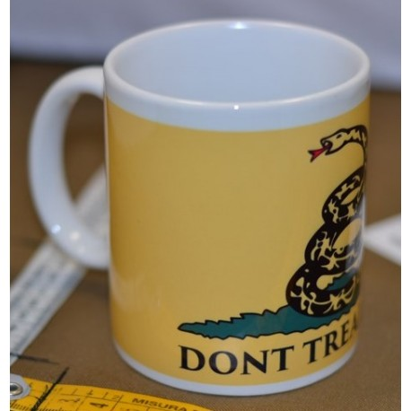 TAZZA DONT' TREAD ON ME