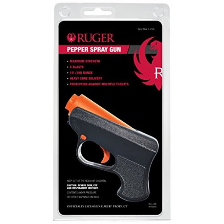 PISTOLA RUGER PEPPER SPRAY