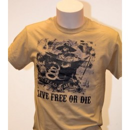 T-SHIRT LIVE FREE OR DIE