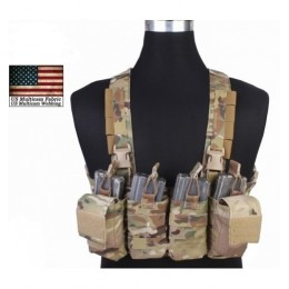 TATTICO EASY CHEST RIG MULTICAM