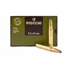 FIOCCHI CART 9,3X62 SP BOND 286 20X
