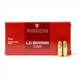 FIOCCHI MUNIZ 6,35 BROW 50GR FMJ 50X
