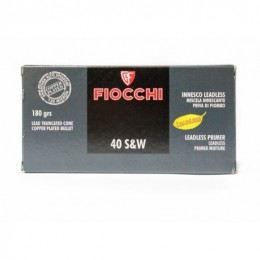 FIOCCHI MUNIZ. 40SW TCCP 180 RAM 50X TOP TARGET